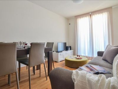 Photo for Cima Brenta apartment in Brescia with WiFi, private parking, private roof terrace, balcony & jacuzz…