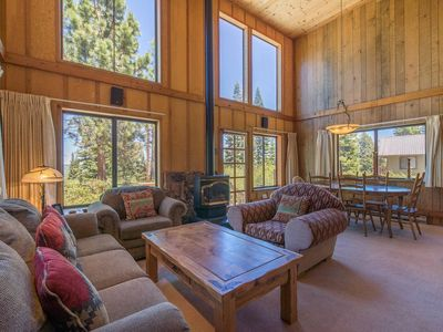 Photo for Tahoe Donner Home with Views Galore!