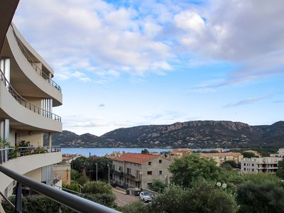 Photo for Apartment 4/6 pers - Pool - Sea view - Porto-Vecchio