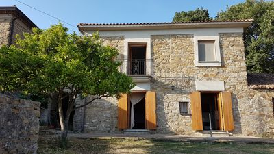Photo for Panoramic house near the sea with exclusive garden at castellabate wing