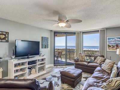 Photo for Amazing Beachfront views of Ocean | Upgraded Luxury Condo | My Beach Getaways
