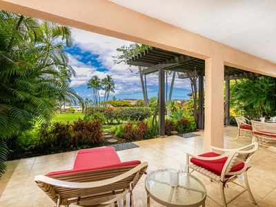Photo for New Listing!  Amazing Ocean View from Lanai!