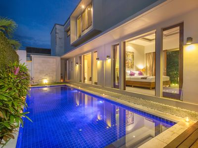 Photo for MODERN Villa In Canggu Close to Beach, Cafe and Shops