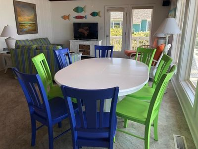 Photo for Ocean Front Cottage, Panoramic view,  PETS are FREE. Close to all EI activities