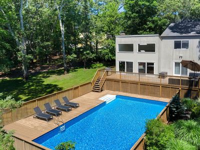 Photo for Perfect Home For A Fall Hamptons Getaway!! Tranquil Oasis With Beach Access