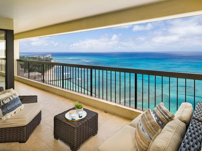 Photo for Perfect 2 Bedroom at Waikiki Beach Tower