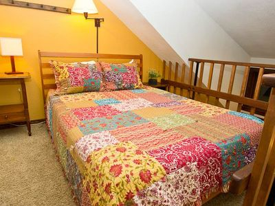 Photo for Lofted Lodge Room Near Ski Lifts, Festivals, and Historic Downtown