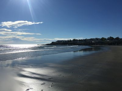 Enjoy Short Sands and walk back to the house if you need a break from the sun.