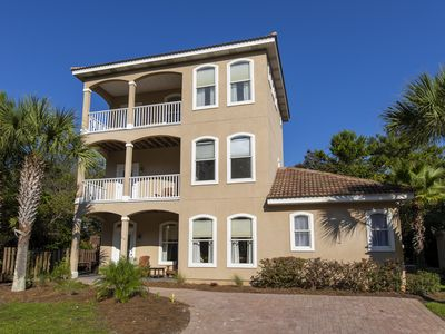 Photo for Palm Vela - Private Hot Tub, Pet Friendly, Gulf View in Santa Rosa Beach