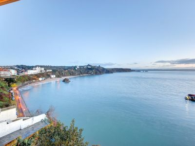Photo for Spectacular location in Tenby overlooking the picturesque harbour.  Bullet points  - Size: sleeps 9
