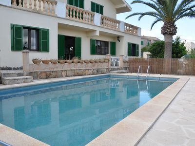Photo for House in Portocolom for 10 people, half a km from the beach, with pool and wifi