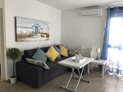 Photo for SUMMER OFFER Nice 2 bedroom apartment 150 meters from the beach