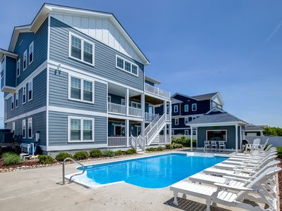 Photo for Oh The Places You'll Go | 56 ft from the beach | Private Pool, Hot Tub