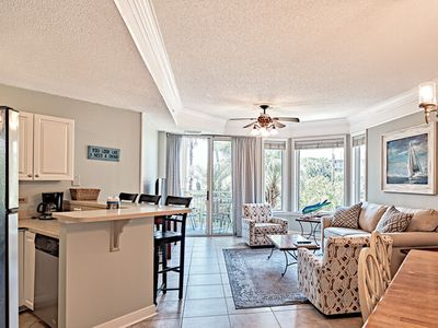 Photo for 2108 Sea Crest - 20% OFF Remaining 2019 Stays! 2bd/2ba! Ocean Front Pools! Walk to Coligny!