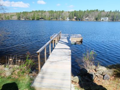 Photo for 3 bedroom 2 bath with private lakefront dock