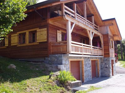 Photo for chalet - MANIGOD. Big and luxury house next to LA CLUSAZ