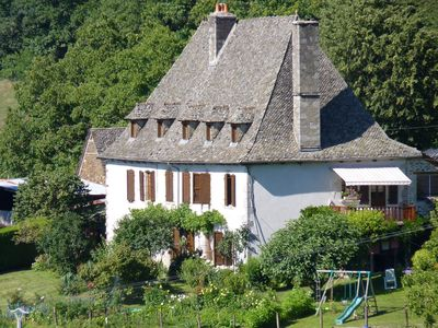 Photo for Holiday rentals in an authentic farm Auvergne, Cantal Auvergne