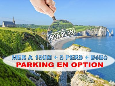 Photo for 3BR Townhome Vacation Rental in Étretat, Normandie