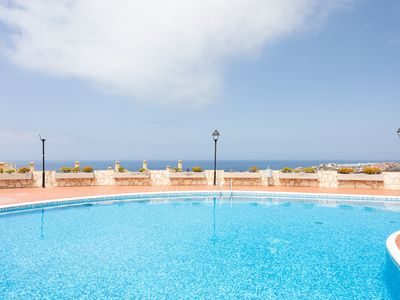 Photo for Beautiful apartment with a large terrace with views and pool in Adeje