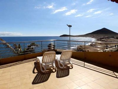 Photo for Magnificent Duplex with large terrace facing the beach of El Medano