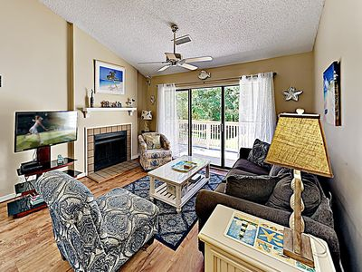 Living Room - Welcome to Myrtle Beach! This condo is professionally managed by TurnKey Vacation Rentals.