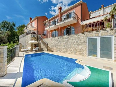 Photo for 3 bedroom Villa, sleeps 7 in Zaton Doli with Pool, Air Con and WiFi