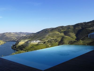 Photo for Vineyard and Winery Houses with jaw-dropping views of the Douro Valley.