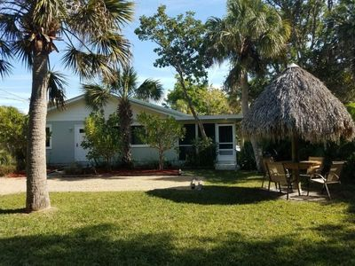 Photo for Charming two bedroom cottage located STEPS TO THE BEACH!  Plus $100+ Exclusive Beach Resort Discount