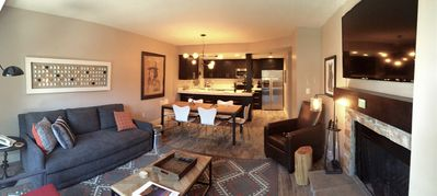 Photo for Walk To Lifts! Remodeled to the studs Modern Rustic Comfy. Luxury beds perfect