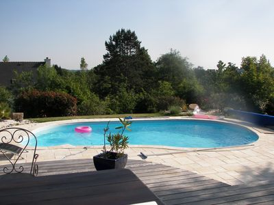 Photo for Detached house with pool chauffee_________________