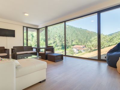 Photo for Beautiful house with pool min. of Bilbao