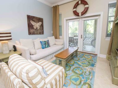 Photo for Quiet and Cozy Condo ~ Close to the Beach ~ Community Pool and Private Balcony!