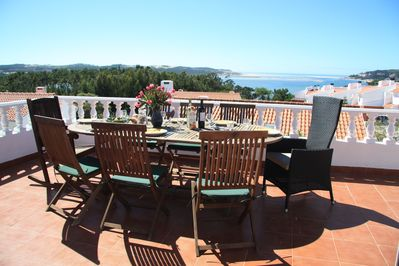 View from the terrace to the Atlantic Ocean