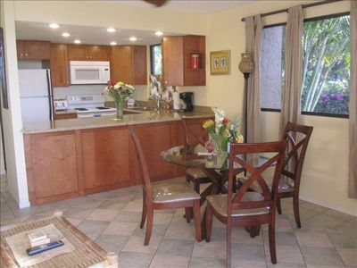 Living/Dining Area facing southwest.