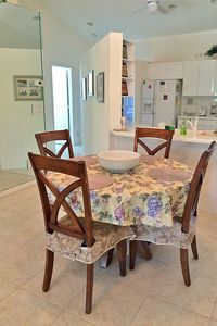 Photo for Spacious and charming condo is minutes from the beach