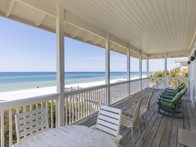 Photo for Gulf Front 6 Bedroom Home! Spacious with Breathtaking Views! Sleeps 16!