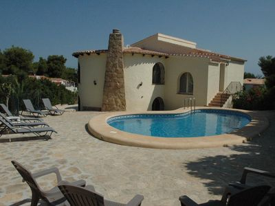 Photo for Ideal for families! Spacious villa with 5 bedrooms in a quiet area of Javea