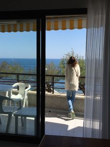 Photo for L'Escala-apartment 20 m from the sea, central, WI-FI, garage