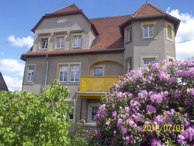 Photo for Cozy, comfortable apartment with garden and balcony, Lilenstein, Bastion