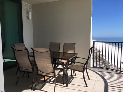 Photo for Beautiful 2 BR, 2.5 BA Oceanfront Condo on the 10th Floor! In Walking Distance to the Flora Bama!