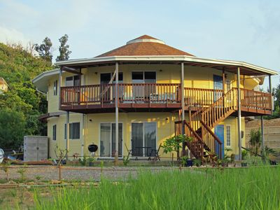 Photo for Spacious 1500 ft², 140m², Quiet, Unique Round House in an Okinawan Village