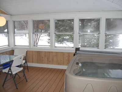 Photo for White Mountain Escape In Bethlehem w/ new Jacuzzi