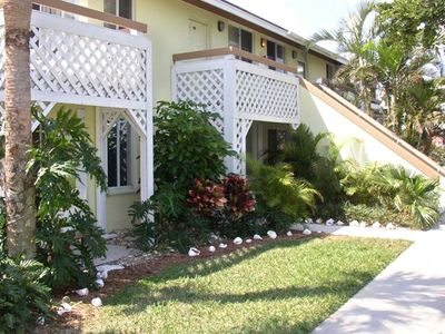 Photo for Stone's Throw from the Beach!  2BR/2BA Villa with Lake View