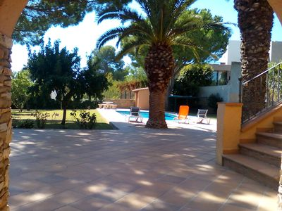 Photo for House with private garden with sea views, private pool and 250m from the beach