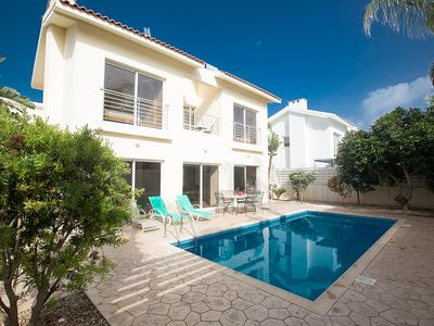 Photo for Villa Emma, Modern 3BDR Central Protaras Villa with Pool, close to Fig Tree Bay