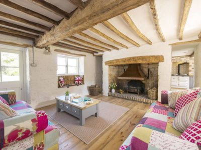 Photo for Lane's End is situated in a pretty hamlet amid glorious Dorset countryside.