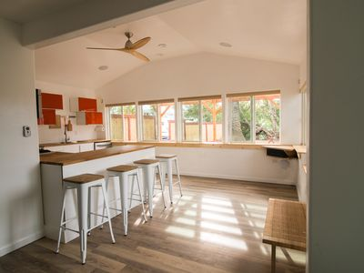 Photo for Ocean View from The Palm: Newly Renovated Spacious Beach Cottage