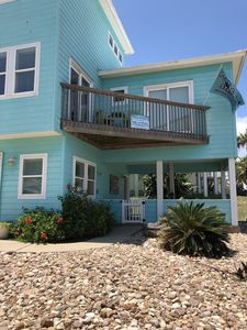 Photo for Shore to Please Sand Point~Steps to beach~Community Pool & Hot tub~Water Views