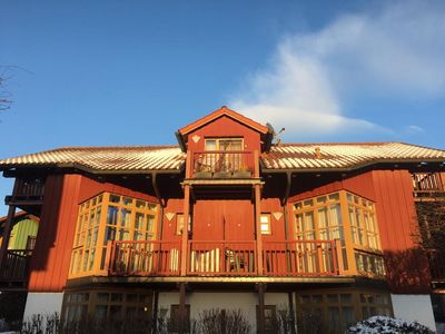 Photo for Fantastic view over lake and forests. Apartment with well-being guarantee