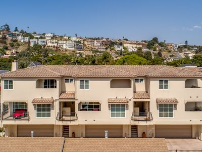 Photo for Two Downtown Pismo Beach Ocean View Condos Sleeps 12 adults/Kids 5 BR/5.5 Bath